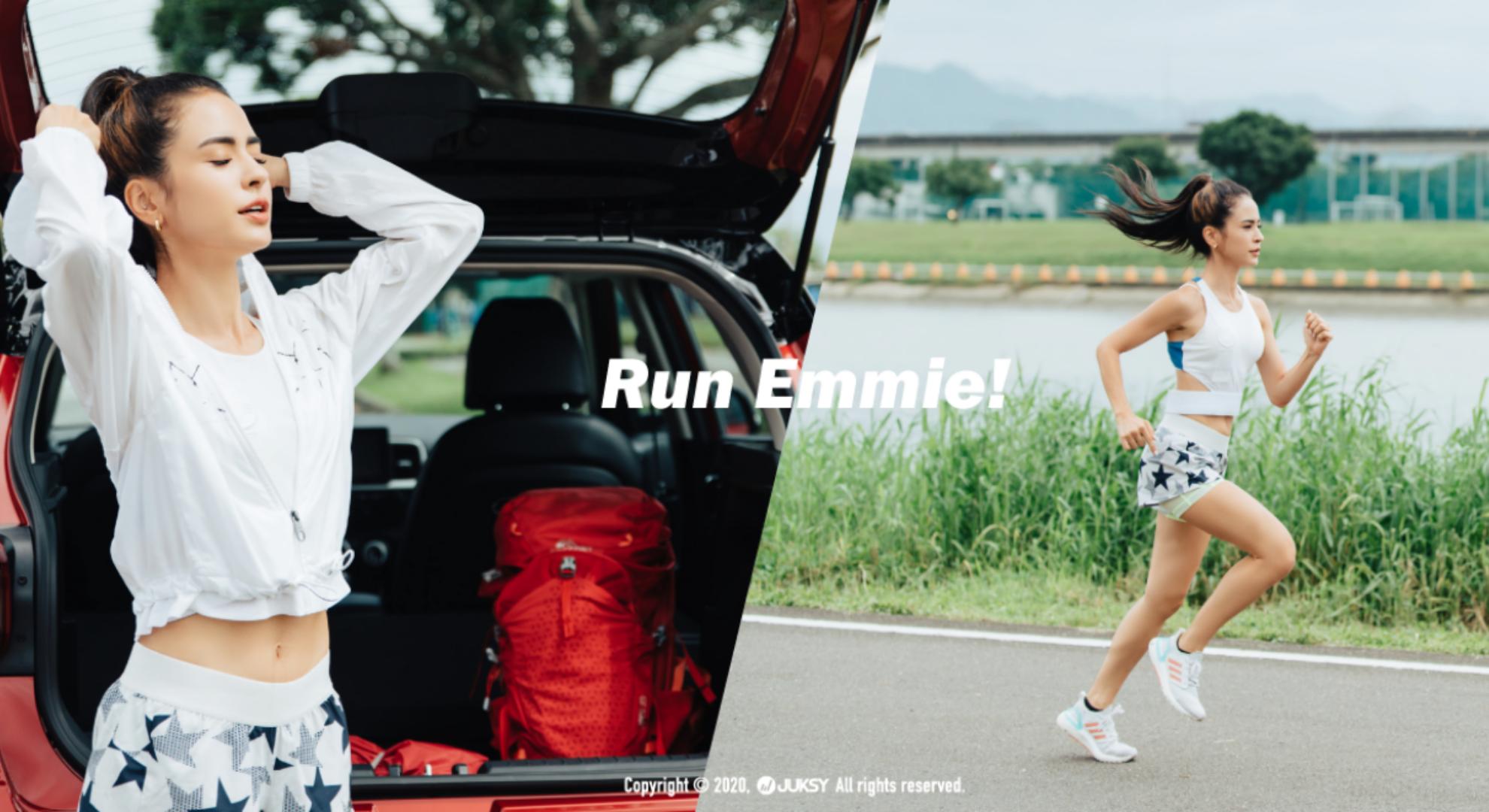 "Hyundai HyundaiVenue 「不只是演員,還是出色跑者 !」,角色再多,雷艾美從不忘記做自己最真的樣子,Hyundai Venue 的存在就是要滿足她的""Me time""質量!"