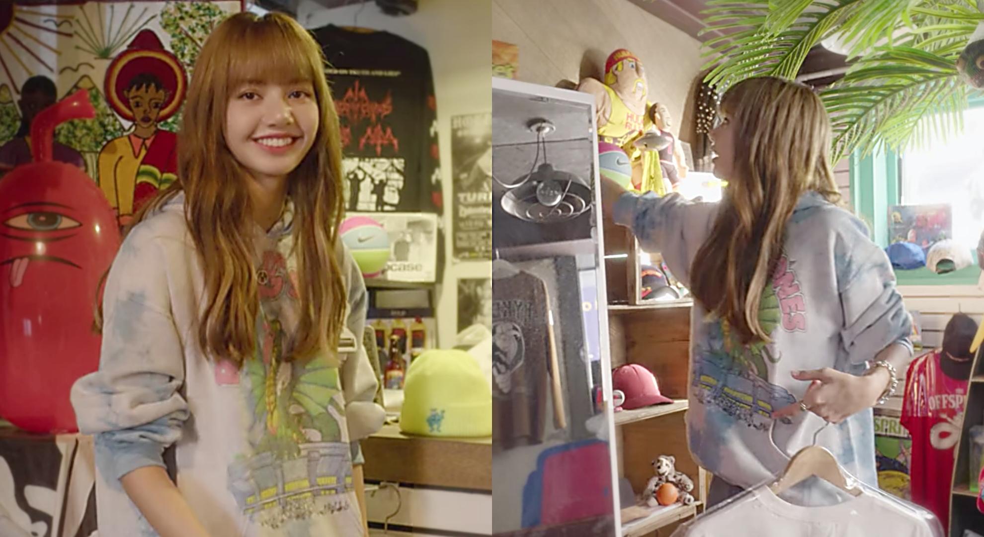 BLACKPINK Lisa 最愛逛!激推 4 家老司機必逛「韓國古著店」,說不定有機會跟女神巧遇喔!